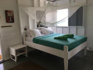 Bed in cottage
