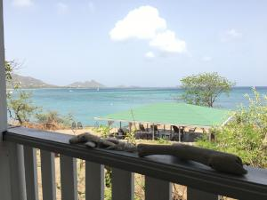 Cottage veranda sea view